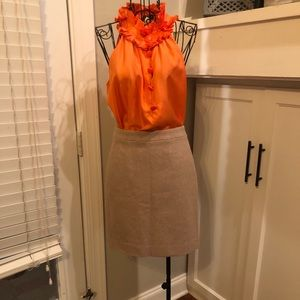 Wool Jcrew Pencil Skirt